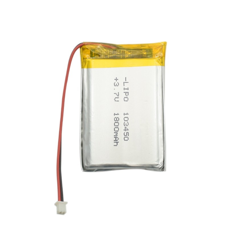 GEB103450 3.7v 1800mah Rechargeable lithium polymer battery