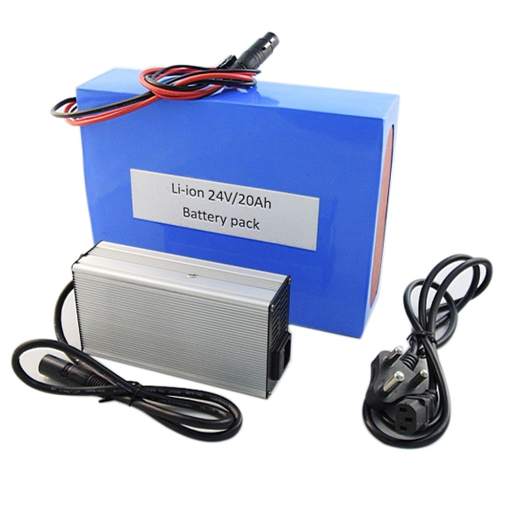 24v 20ah 350w power battery pack lithium battery pack for electric bike