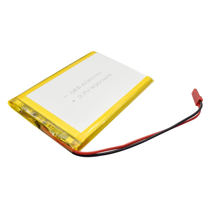3.7v lithium polymer battery 606090 4000mAh for laptop
