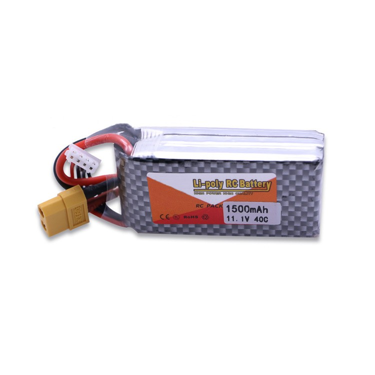 11.1V 40C 1500mah Lipo Battery for airsoft /gun/RC model/hobby