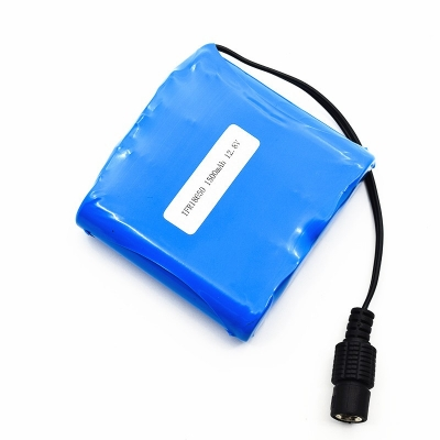Deep cycle 12.8V 1500mah 18650 4S1P LiFePO4 battery pack