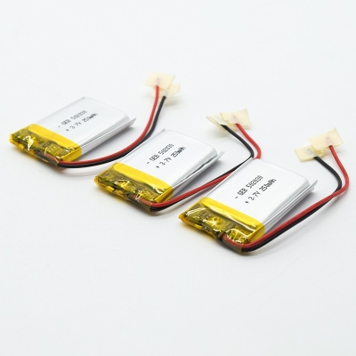 502030 3.7v 250mah lipo rechargeable Lithium Ion Polymer batter
