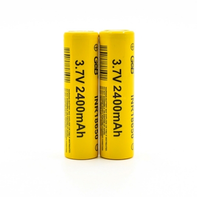 Good quality lithium ion 18650 2400mah rechargeable li-ion battery